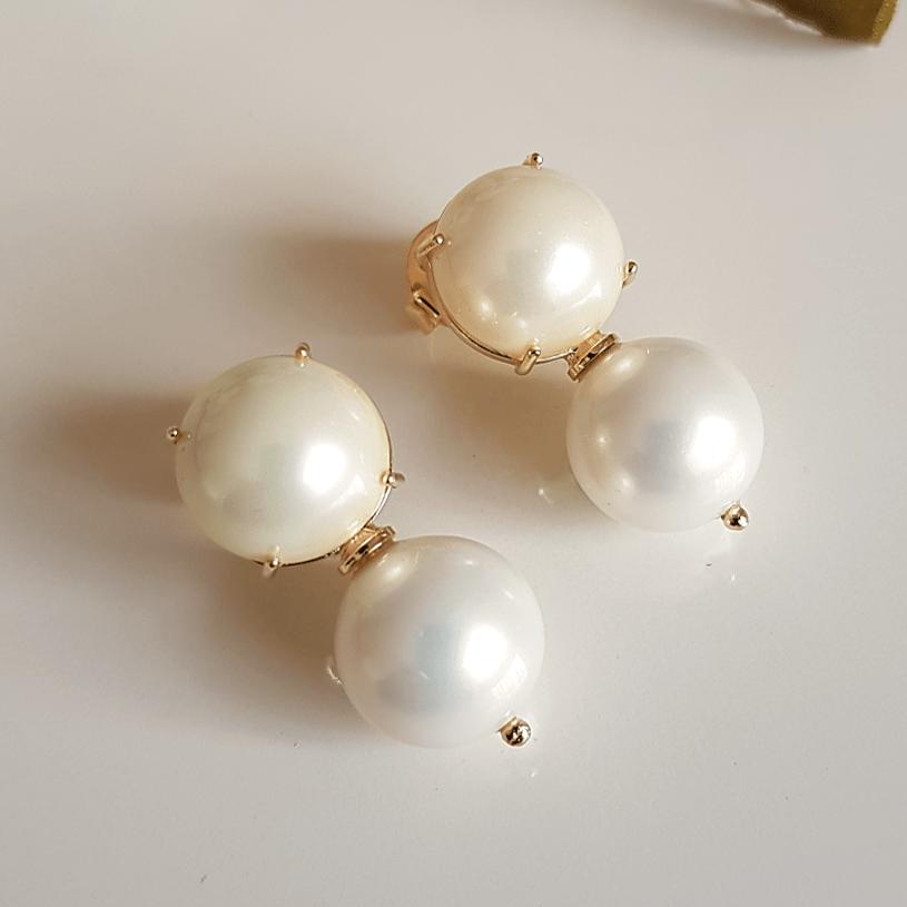 3-Brinco de pérolas shell