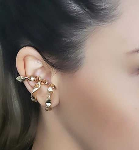 Piercing fake da Juliette - triplo