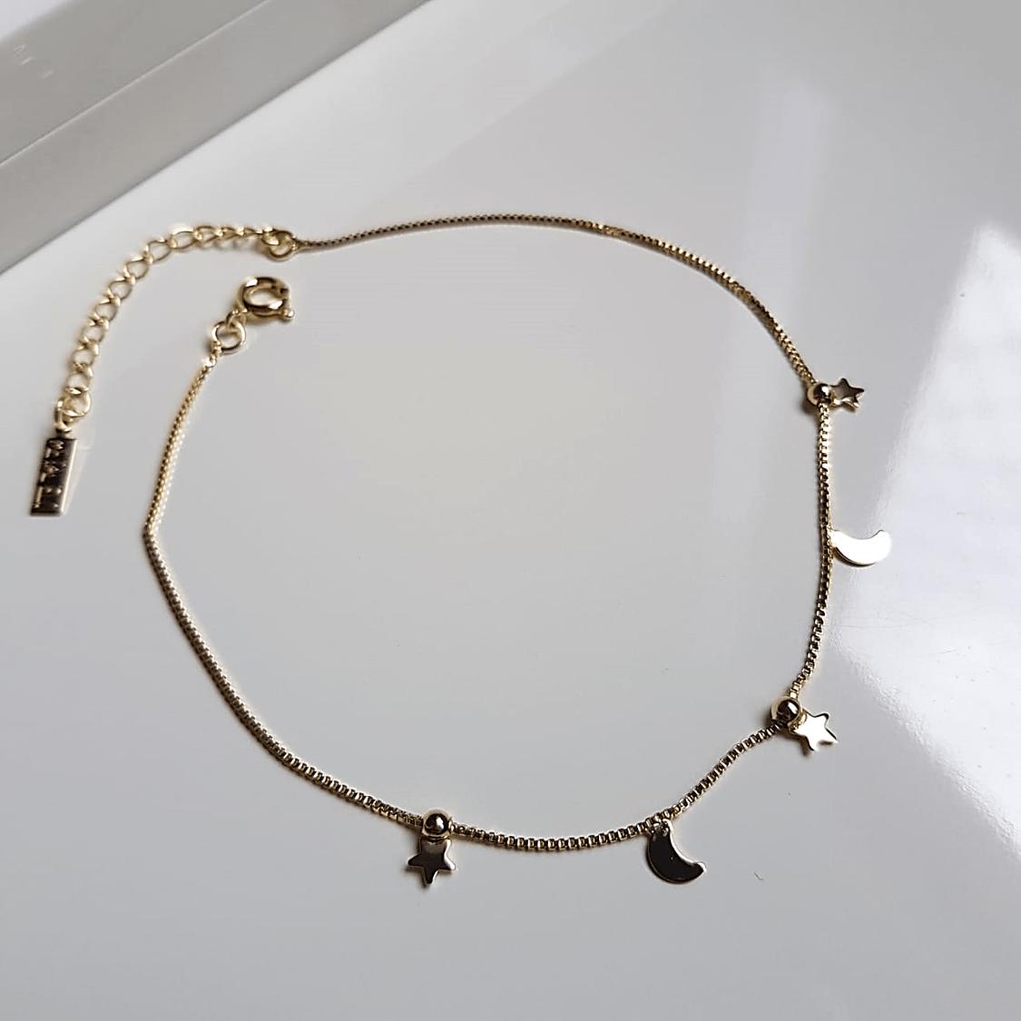 Tornozeleira dourada - 4