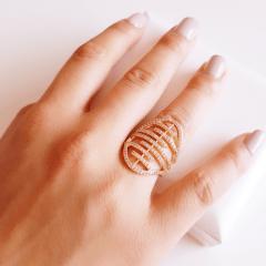 anel zircônia -32