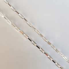 Corrente Masculina 70cm - cartier 3mm