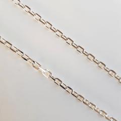 Corrente Masculina 70cm - cartier cardeado 4mm