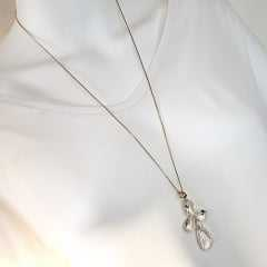 pingente de cristais white