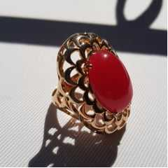 Conjunto Evidence - colar e anel